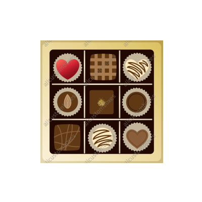Custom Chocolate Boxes UK-3