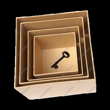 Custom Double Locked Wall Lid Boxes UK-1