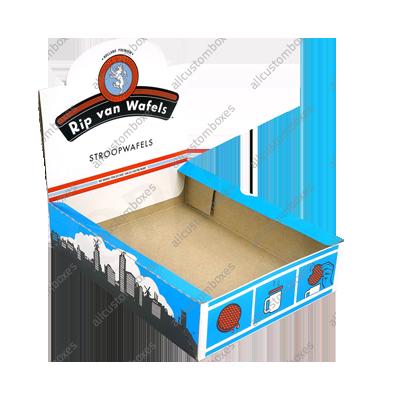 Custom Double Wall With Display Lid Boxes UK-3