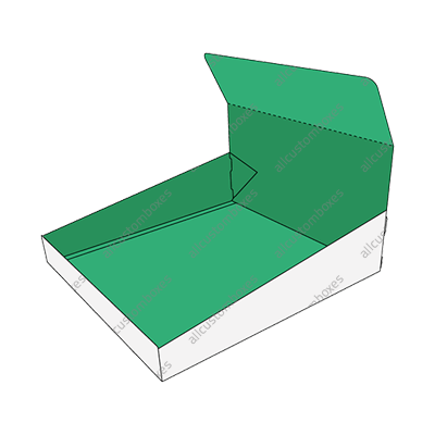 Custom Double Wall With Display Lid Boxes UK-5