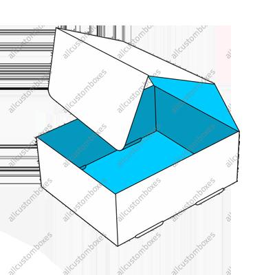Custom Double Wall With Display Lid Boxes UK-6