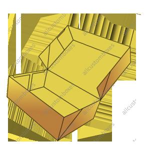 Four Corner Cake Boxes-5