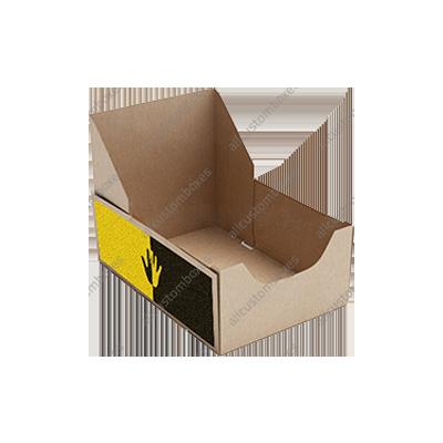 Custom Four Corner With Display Lid Boxes UK-5