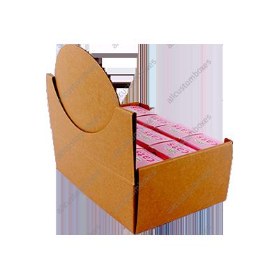 Custom Four Corner With Display Lid Boxes UK-6