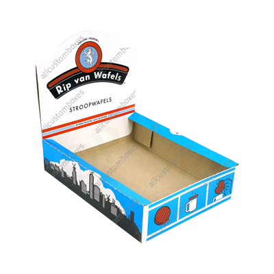 Custom Four Corner With Display Lid Boxes UK-2