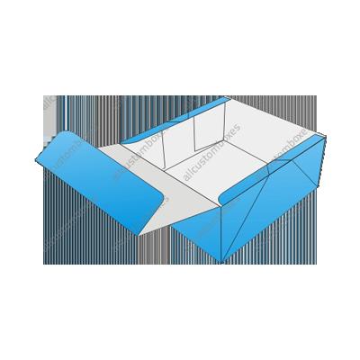 Custom Four Corner With Display Lid Boxes UK-3
