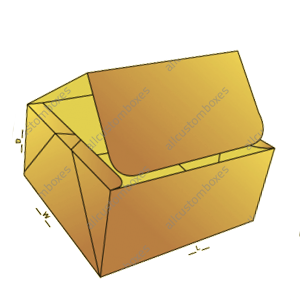 Four Corner With Display Lid Boxes-7