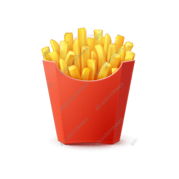 Custom French Fry Boxes UK-1