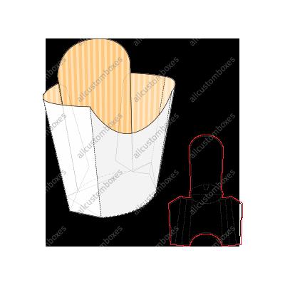 Custom French Fry Boxes UK-4