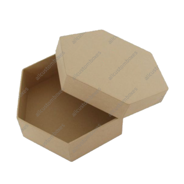 Custom Hexagon 2 Piece Boxes UK-3