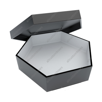 Custom Hexagon 2 Piece Boxes UK-1