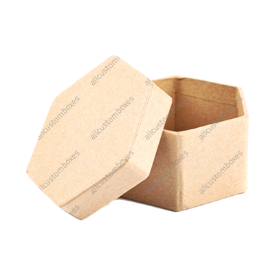 Custom Hexagon 2 Piece Boxes UK-4
