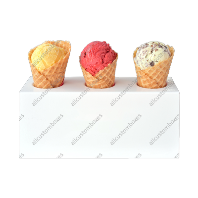 Custom Ice Cream Holder UK-1