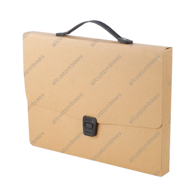Custom Paper Briefcases UK-1