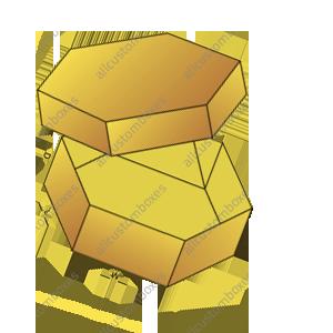 Hexagon Two Piece Boxes-1