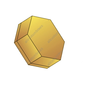 Hexagon Two Piece Boxes-2