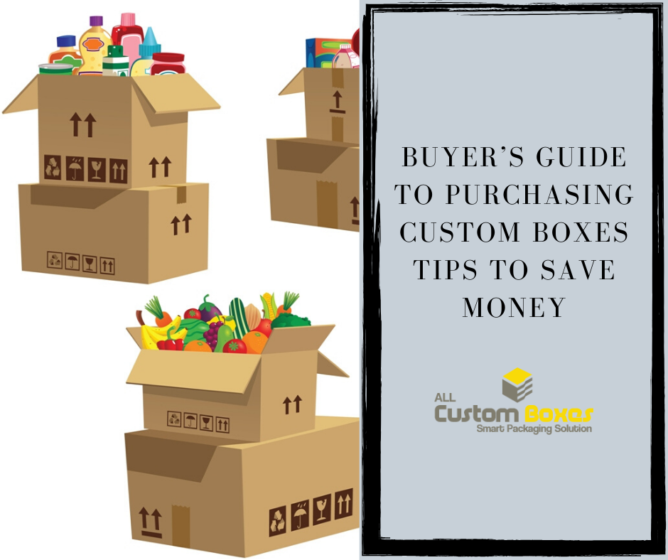 Buyer's Guide to Purchasing Custom Boxes Tips to Save Money